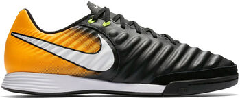 Nike Tiempo Ligera IV zaalvoetbalschoen Zwart