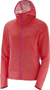 Salomon Right Nice Mid hoodie Dames Oranje