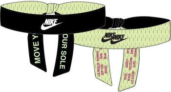 Nike World Tour Reversible Printed hoofdband Zwart