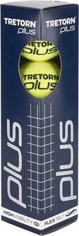 Plus 4 Pack tennisballen