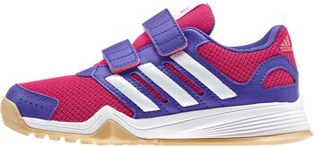 adidas Interplay CF jr indoorschoenen Roze