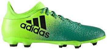 ADIDAS X16.3 FG voetbalschoenen Groen