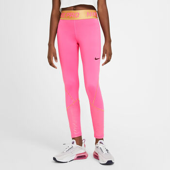 Nike Pro Warm kids legging Meisjes Rood