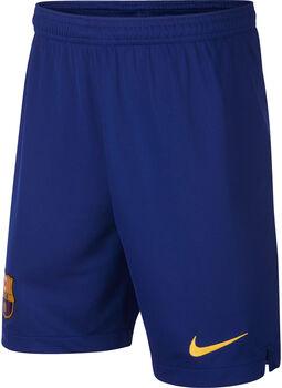 Nike FC Barcelona uit/thuis jr short 2019-2020 Jongens Blauw