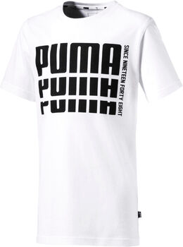 Puma Rebel Bold Basic shirt Wit