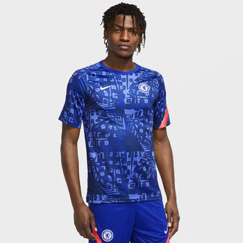 Nike Chelsea Pre-Match top Heren Blauw