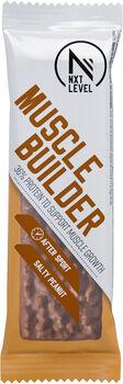 NXT Level Muscle Builder Salty Peanut reep 55 gram Wit