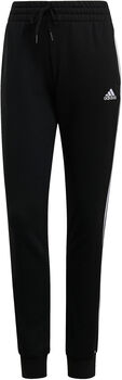 adidas Essentials French Terry 3-Stripes Broek Dames Zwart
