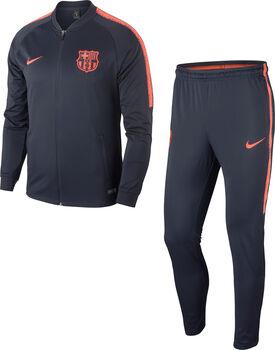 Nike FC Barcelona Dry Squad trainingspak Heren Blauw