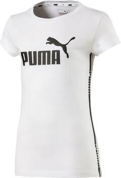 Puma Tape shirt Meisjes Wit