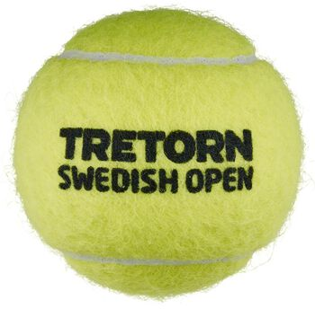 Tretorn Swedish Open 4-tube tennisballen Geel