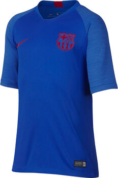 Nike FC Barcelona Breatch Strike shirt Jongens Blauw