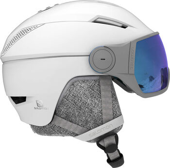 Salomon Icon Visor helm Wit