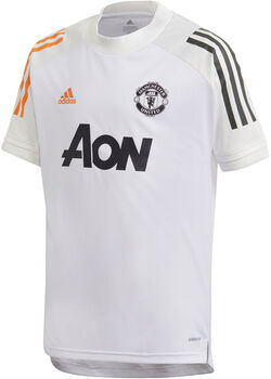 adidas Manchester United Training shirt 20/21 Jongens Wit