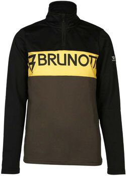 Brunotti Frank kids fleece Jongens Zwart