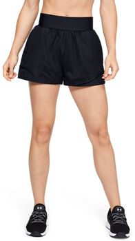 Under Armour Warrior Mesh short Dames Zwart