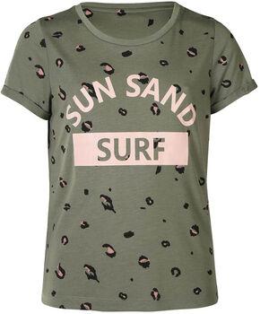 Brunotti Peyton t-shirt kids Meisjes Groen