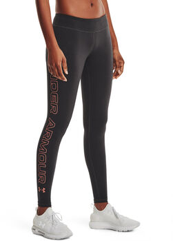 Under Armour Favorite Wordmark legging Dames Grijs