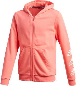 adidas Must Haves Logo kids hoodie  Meisjes Rood