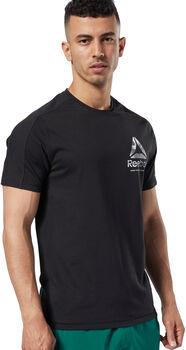 Reebok One Series Training Speedwick shirt Heren Zwart