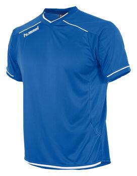 Hummel Leeds Shirt Ss Dames Blauw