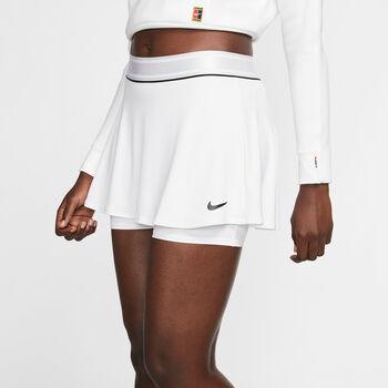 Nike Court Dry tennisrokje Dames Wit