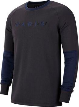 Nike Men's Fleece Crew Heren Zwart