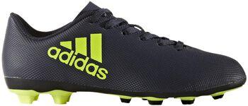 ADIDAS X17.4 FxG jr voetbalschoenen Blauw