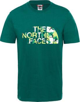 The North Face Extent II Logo shirt Heren Groen