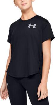 Under Armour HeatGear® Armour kids t-shirt  Meisjes Zwart