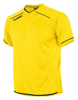 Hummel Leeds Shirt Ss Dames Geel
