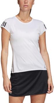 adidas 3-Stripes Club shirt Dames Wit