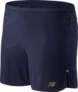 New Balance Impact Run 5-Inch short Heren Blauw