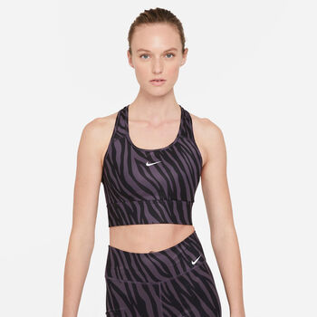 Nike Swoosh Iconclash sport bh Dames Roze