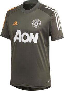 adidas Manchester United Training Voetbalshirt 20/21 Heren Groen