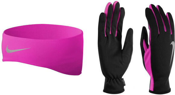 Running Dri-FIT hoofdband en handschoenen set
