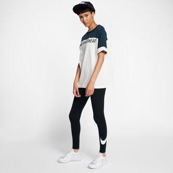 Nike Club Logo 2 legging Dames Zwart