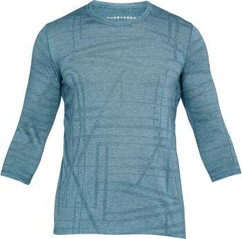 Under Armour Threadborne Utility shirt Heren Blauw