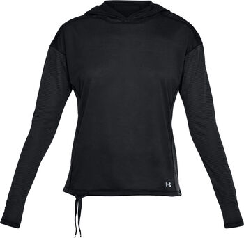 Under Armour Threadborne sweatshirt Dames Zwart
