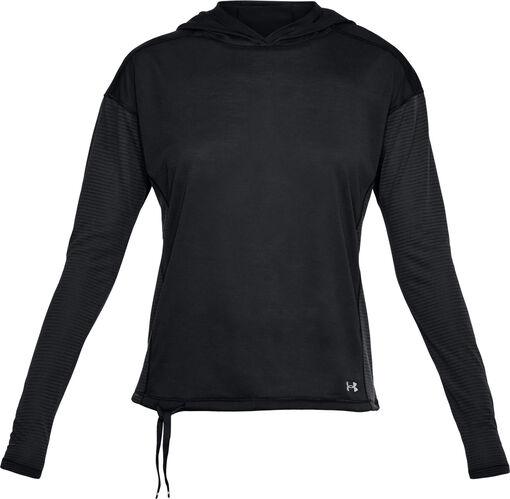 Under Armour - Threadborne sweatshirt - Dames - Sweaters - Zwart - S