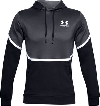 Under Armour Rival Fleece AMP hoodie Heren Zwart
