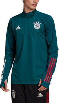 adidas FC Bayern München trainingsshirt 20/21 Heren Groen