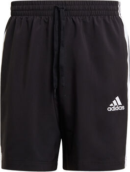 adidas AEROREADY Essentials Chelsea 3-Stripes Short Heren Zwart