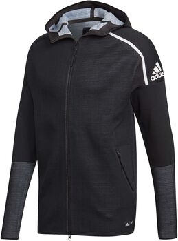 ADIDAS ZNE Parley hoodie Heren Zwart