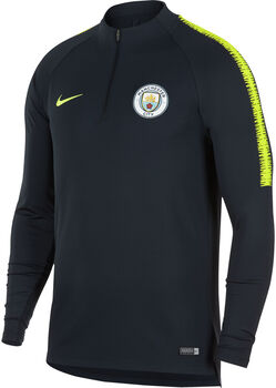 Nike Manchester City FC Dry Squad Drill shirt Heren Blauw