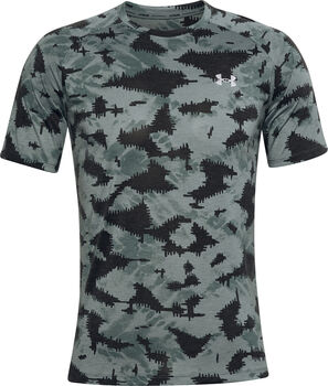 Under Armour Streaker 2.0 Inverse t-shirt Heren Blauw