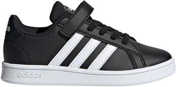 adidas Grand Court kids sneakers  Zwart