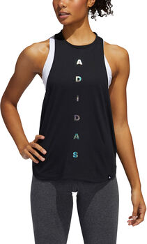 ADIDAS Badge of Sport top Dames Zwart