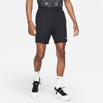 Nike Court Flex Advantage short Heren Zwart