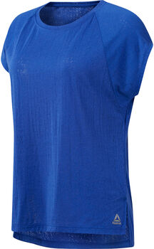 Reebok Burnout shirt Dames Blauw